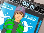 Justin Bieber en couverture de magazine