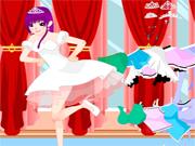 Habillage Princesse qui danse