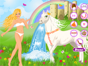 Princesse et Cheval