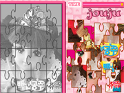 Puzzle Barbie Blanche Neige