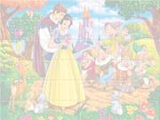 Puzzle Blanche Neige et les 7 Nains