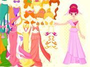 Habillage Princesse Couleurs