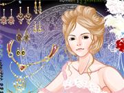 Bijoux et maquillage de Princesse