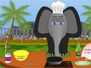 Compote de Banane et l'éléphant